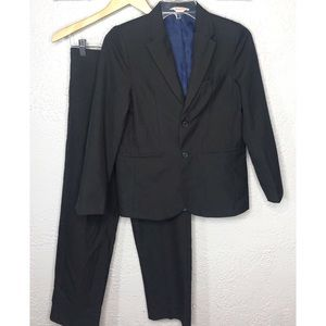 Cat & Jack black suit 12
